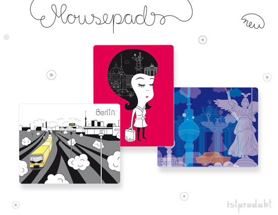 mouespad design by claudia bernhardt