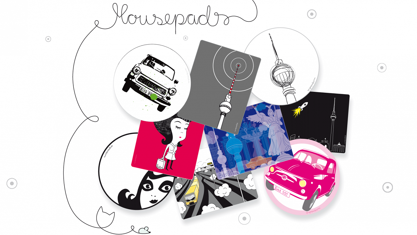 mousepads designed by istprodukt